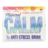 Natural Vitality Calm Counter Display - Assorted Flavors - Case of 8 - 5 Packs - Case of 8 - 5 PK each