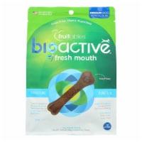 Fruitables Bioactive Fresh Mouth Dental Dog Treats - Case of 8 - 10.8 OZ
