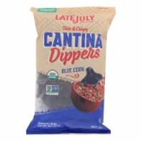 Late July Snacks Multigrain Chips - Blue Corn - Case of 9 - 8 oz - Case of 9 - 8 OZ each