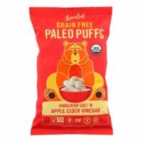 Lesser Evil Puffs - Crunchy Him Slt and Apple Cider Vinegar - Case of 9 - 5 oz. - Case of 9 - 5 OZ each