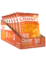 Quest Tortilla Style Nacho Cheese Protein Chips Bags