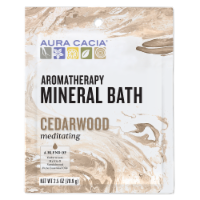 Aura Cacia - Aromatherapy Mineral Bath Meditation - 2.5 oz - Case of 6