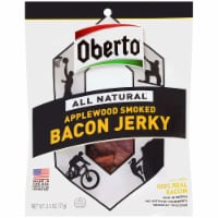 Oberto All Natural Applewood Smoked Bacon Jerky - 8 ct / 2.5 oz