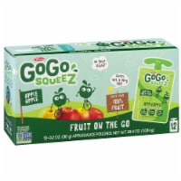GoGo Squeez Apple Apple On The Go Applesauce, 3.2 Ounce -- 72 per case.