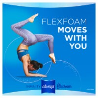 Always Infinity FlexFoam Size 2 Unscented Heavy Flow Pads with Wings 32 Count