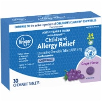 Kroger® Children's Allergy Grape Chewable Tablets