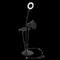Volkano Insta Series Ring Light Desk Stand Vlogging Kit - 1 ct