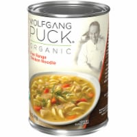 Wolfgang Puck Free Range Chicken and Egg Noodles Soup - 14.5 fl oz