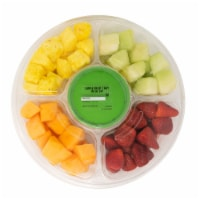 Large Fruit Tray with Dip - 73.5 oz