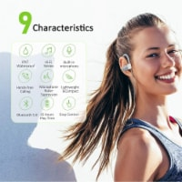 Letsfit U8L Bluetooth Headphones - Gray