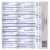 Colgate Max Clean Effervescent Mint with Whitening Smart Foam Toothpaste 4 Count Perspective: back