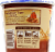 Cream of Wheat Maple Brown Sugar Instant To Go Hot Cereal Perspective: back