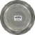 Loving Pets Ruff-N-Tuff Stainless Steel Pet Feeding Dish Perspective: back