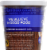 Earnest Eats Hot And Fit Cereal Cup Superfood Blueberry Chia Perspective: back