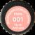 Revlon Super Lustrous Nude Attitude 001 Matte Lipstick Perspective: bottom
