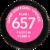 Revlon Super Lustrous Fuchsia Fusion Lipstick Perspective: bottom