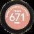 Revlon Super Lustrous Mink Creme Lipstick Perspective: bottom