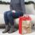 Christmas Bag #55: Hallmark Large Christmas Gift Bag with Tissue Paper (Stamp Tag) Perspective: bottom