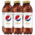 Diet Pepsi Cola Caffeine Free Soda 6 Pack Bottles Perspective: front