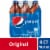 Pepsi Cola Soda 6 Pack Bottles Perspective: front