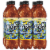 Lipton Brisk Lemon Iced Tea Bottles Perspective: front