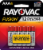 Rayovac® Fusion™ AAA Alkaline Batteries Perspective: front