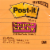 Post-it® Lined Super Sticky Notes - 3 Pack - Assorted Perspective: front