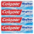 Colgate Max Clean Effervescent Mint with Whitening Smart Foam Toothpaste 4 Count Perspective: front