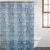 Everyday Living® Up Up and Away PEVA Shower Curtain - Blue Perspective: front