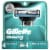 Gillette Mach 3 Men's  Razor Cartridges Perspective: front