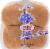 Dunford Bakers White Hamburger Buns Perspective: front