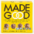 MadeGood Organic Chocolate Banana Granola Minis Pouches 4 Count Perspective: front