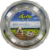 Loving Pet Blueberry Small Bella Bowl Perspective: front