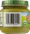 Earth's Best Organic First Peas Baby Food Jar Perspective: left
