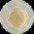 Al Wadi Rose Water Glass Perspective: top