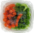 Celery and Carrot Sticks Perspective: top