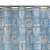 Everyday Living® Up Up and Away PEVA Shower Curtain - Blue Perspective: top