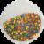 Pillsbury Funfetti Confetti Vanilla Frosting Perspective: top