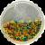 Pillsbury Funfetti Neon Yellow Vanilla Frosting Perspective: top
