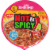 Nissin Hot & Spicy with Shrimp Ramen Noodle Soup Bowl Perspective: top