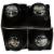 Stella Rosa Black Aluminum Singles Wine 4 Bottles Perspective: top