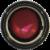 Revlon Super Lustrous Fuchsia Shock Shine Lipstick Perspective: top