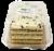 Tiramisu Layer Cake Perspective: top