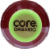 Core Organic Pomegranate Blue Acai Fruit Infused Beverage Perspective: top