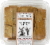 Firehook Multi-Grain Flax Crackers Perspective: top