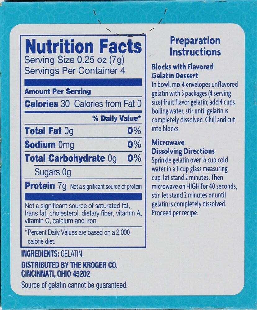 Kroger - Kroger® Unflavored Gelatin, 1 oz