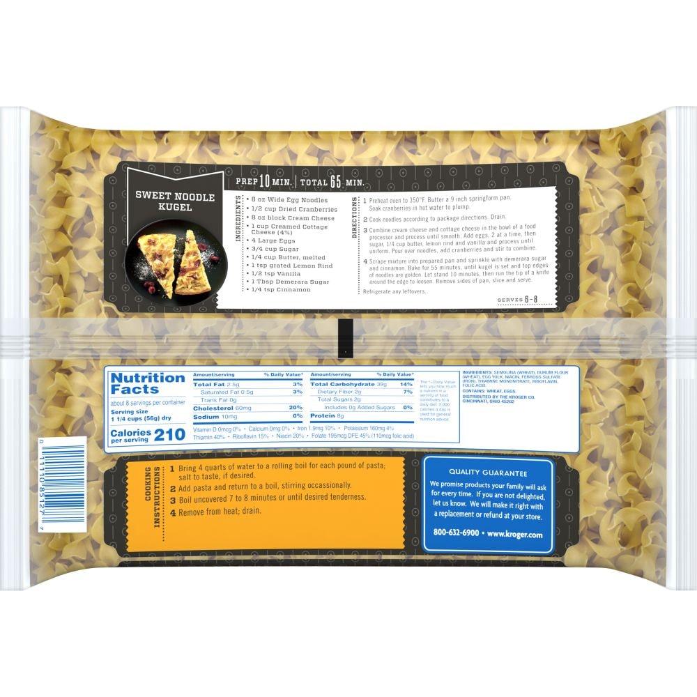 Kroger - Kroger® Wide Egg Noodles, 16 oz
