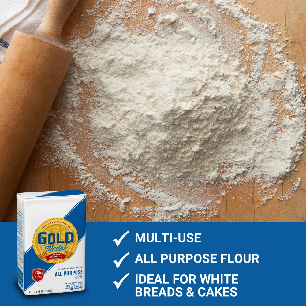 King Soopers Gold Medal All Purpose Flour 5 Lb