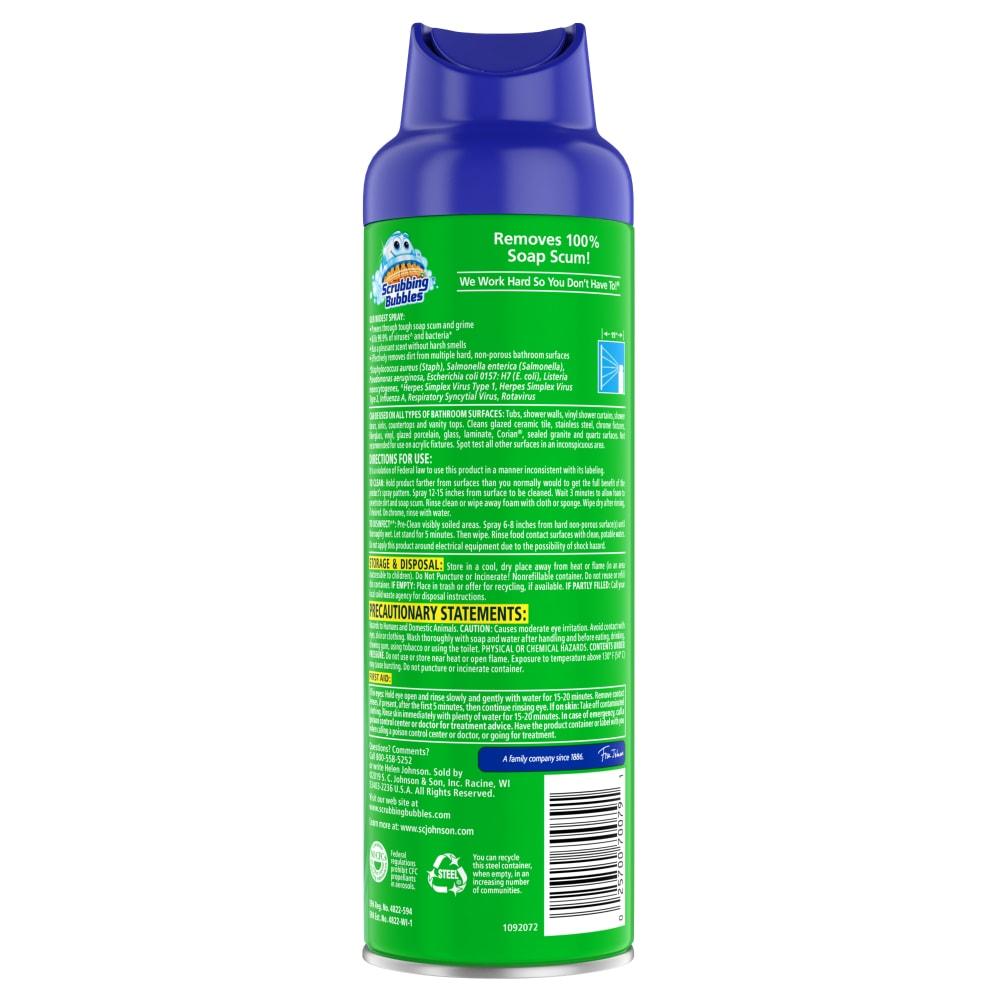 shower surfaces scum free - 1000×1000