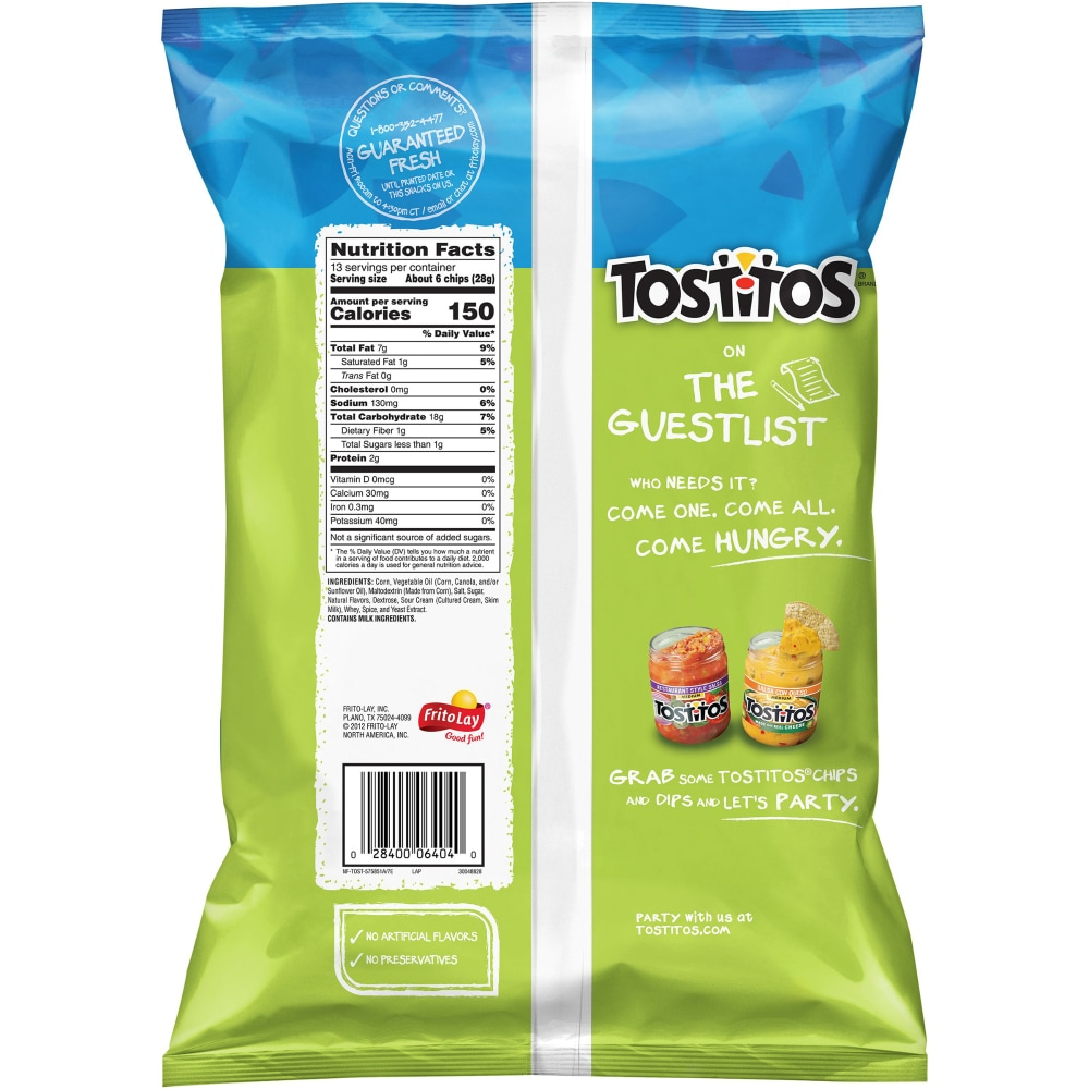 Lime Flavored Tortilla Chips